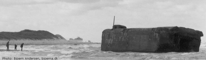 A bunker near Hanstholm, Jutland. Photo: Bjoern Andersen, bjoerna.dk